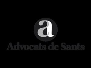 logo advocats de sants bn